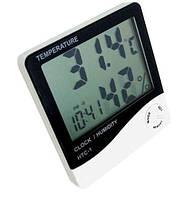 4в1: Термометр, Гигрометр, Часы, Будильник