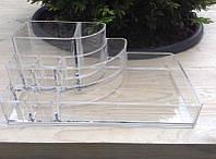 Пластиковый органайзер / бокс для косметики средний