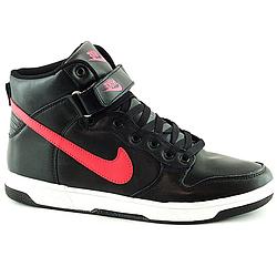 Зимные Кроссовки Nike Чёрные Black (41-45) Nike высокие (чёрные) (реплика)