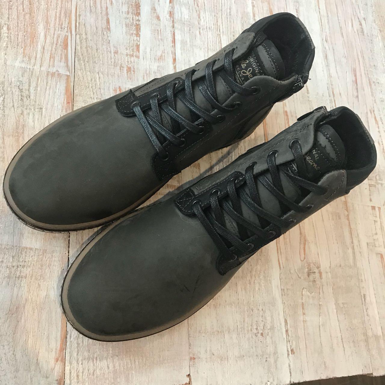 ... Кожаные ботинки Belvas арт 17173 олив размеры 43 7830910c26148
