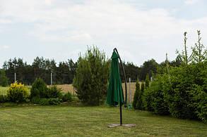 Садовый зонт Furnide зеленый,300 см., фото 3