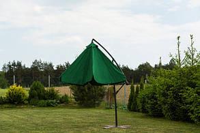 Садовый зонт Furnide зеленый,300 см., фото 2