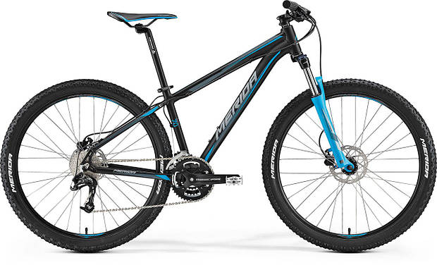 "Велосипед 27,5"" Merida Big.Seven 70 Black (2017)"