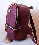 Женский рюкзак Moschino. Городской рюкзак. Стильные женские рюкзаки., фото 5