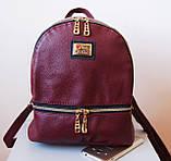 Женский рюкзак Moschino. Городской рюкзак. Стильные женские рюкзаки., фото 7