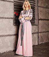 Вишите плаття Вечірнє-2 (машинна вишивка,домоткане полотно)
