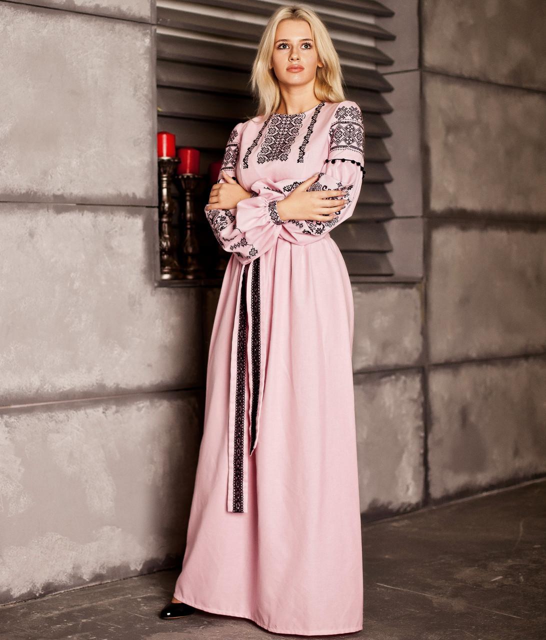 Вишите плаття Вечірнє-2 (машинна вишивка ab583a2847d27