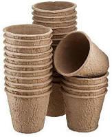 Торфяные горшки Jiffy, 10*8 см  (1000шт)
