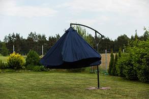 Садовый зонт Furnide темно-синий,300 см., фото 2