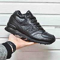 Мужские зимние ботинки, кроссовки New Balance 574. Оплата при получении!