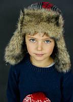 Детская шапкаКЕНИ для мальчиков оптом р. 52-54