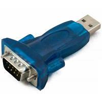 Адаптер Extradigital High-Speed USB 2.0 to Serial RS-232 DB-9, FTDI, Blue, PVC