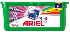 """Средство д/стирки """"Ariel"""" 3в1 Color капсулы 28шт."""