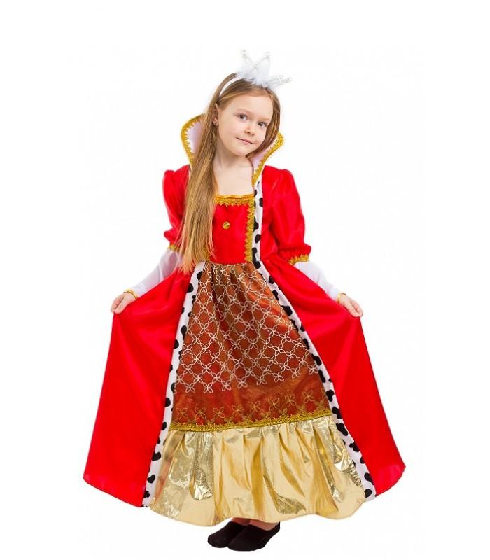 Карнавальный Костюм Королевы для девочки  (5-9 лет)