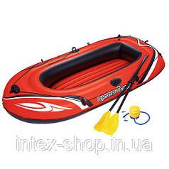 Надувная лодка Bestway Hydro-Force Raft Set (61062) с ножным насосом