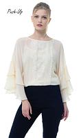 Боди-блуза Arefeva молочного цвета
