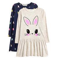 Комплект платьев HM для девочек (Швеция)