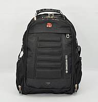 Рюкзак городской SwissGear 1419 черный, выход для USB, наушников