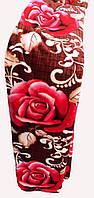 Качественный плед-покрывало-простынь с микрофибры Nanhwa Красные розы, фото 1