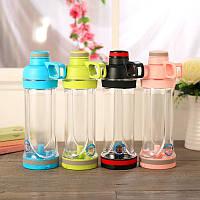 Спортивная бутылка для воды и телефона SO-KID Н-606 400 мл Blue