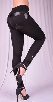 Леггинсы Fashion черные, фото 2