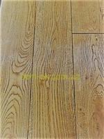 Доска массивная из дуба  с покрытием, ширина 70 мм Дуб 70х16х250-500мм Рустик