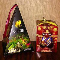 Новогодний набор - 2 чая в сувенирной упаковке