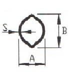 Профіль лімон серія W23-W40 потужність LCR, розмір 34,5х40 товщина 4