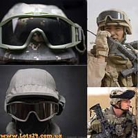 Тактические очки Revision Desert Locust (3 стекла в комплекте, баллистические, маска для АТО)