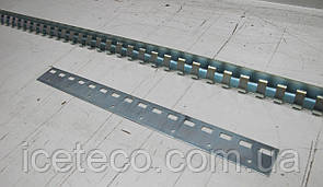Накладные прижимные планки из оцинкованной стали 200 мм