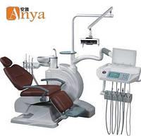 Стоматологическая установка Anya foshion (Китай) AY-A4800 трехсекцеонное кресло, нижняя подача