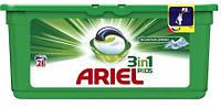 Средство для стирки Ariel 3в1 White капсулы 28шт.