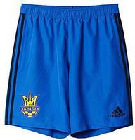 Шорты спортивные Adidas FFU 2016 сборной Украины по футболу