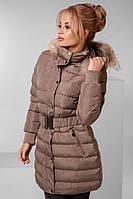 Куртка Мех-исскуственный  Наполнитель -синтипон  Цвет синий,черный,шоколад,беж  флав №3001