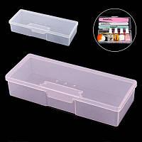 Пластиковый контейнер для хранения маникюрных инструментов