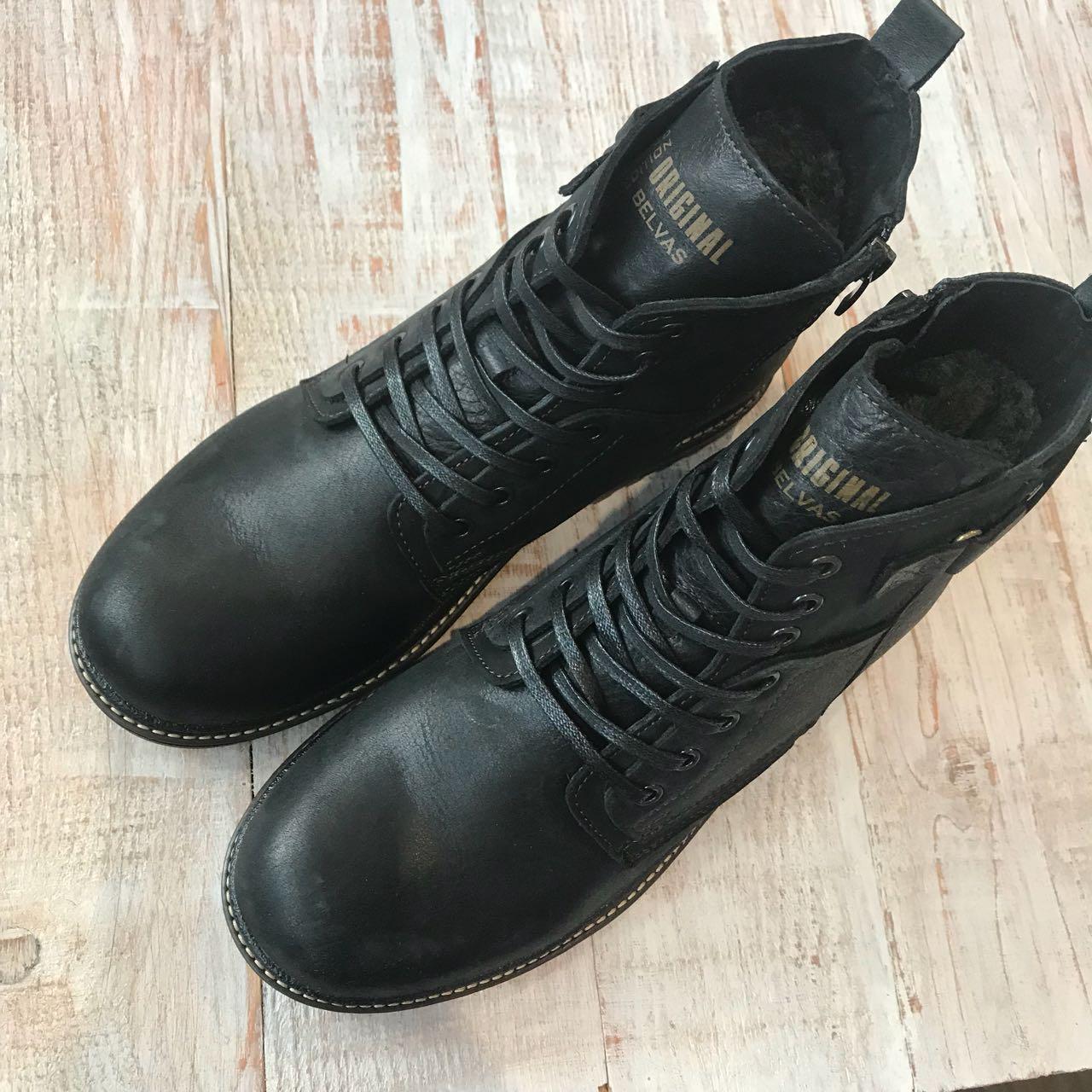 Кожаные зимние ботинки 42-44 размеры 389738b6d285d