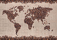 Фотообои: Кофейная карта