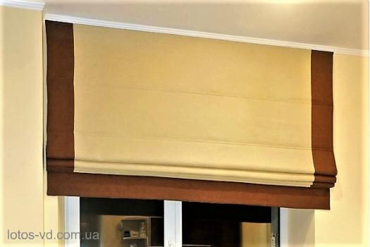 Римские шторы модель Призма