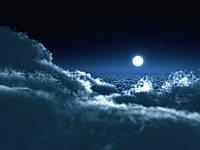 Фотообои Загадочная луна
