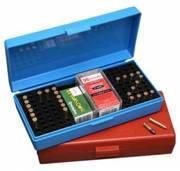 Коробка пластмассовая MTM SB-200 на 250 патронов кал. 22 LR на 200 шт. кал. 22 WMR и на 150 шт. кал. 17 HMR (SB-200-20)