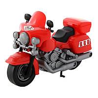 Полицеский мотоцикл Харлей (красный), 24 см, Полесье (8947)