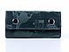 "Зеленая кожаная ключница с креплением на карабине ""7 wonders of the world"", фото 2"