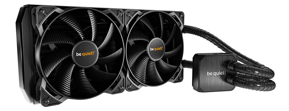 """Водяное охлаждение Be Quiet BW003 Cooler Silent Loop  - intel only """"Over-Stock"""""""