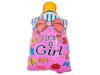 Шар воздушный на выписку Соска для девочки
