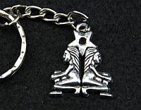 "Брелок для ключей знаки зодиака ""Близнецы"""