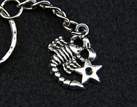 """Брелок для ключей знаки зодиака """"Скорпион"""""""