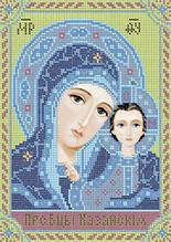 Схема для вышивки бисером «Пресвятая Богородица Казанская»