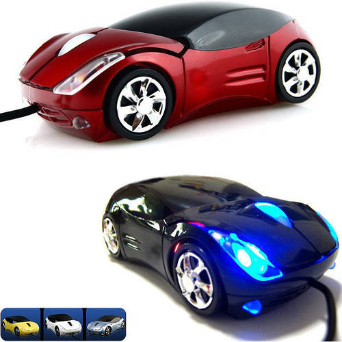 Компьютерная мышка машинка Ferrari