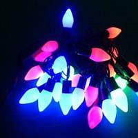 """Гирлянда светодиодная """"Конус"""" LED 40 RGB с защитой от влаги"""