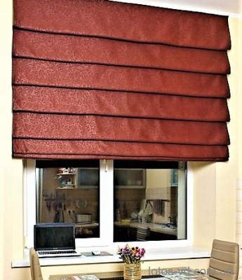 Римские шторы модель Каскад